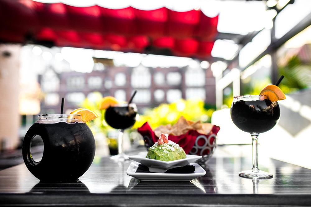 Zócalo Mexican Cuisine & Tequileria Black Margarita