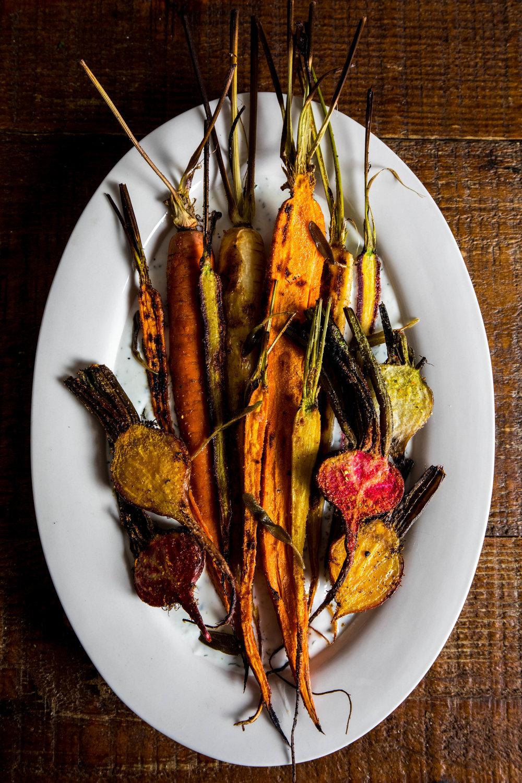 Roasted Root Vegetables with Yogurt Sauce Recipe, Harvesters Community Food Network