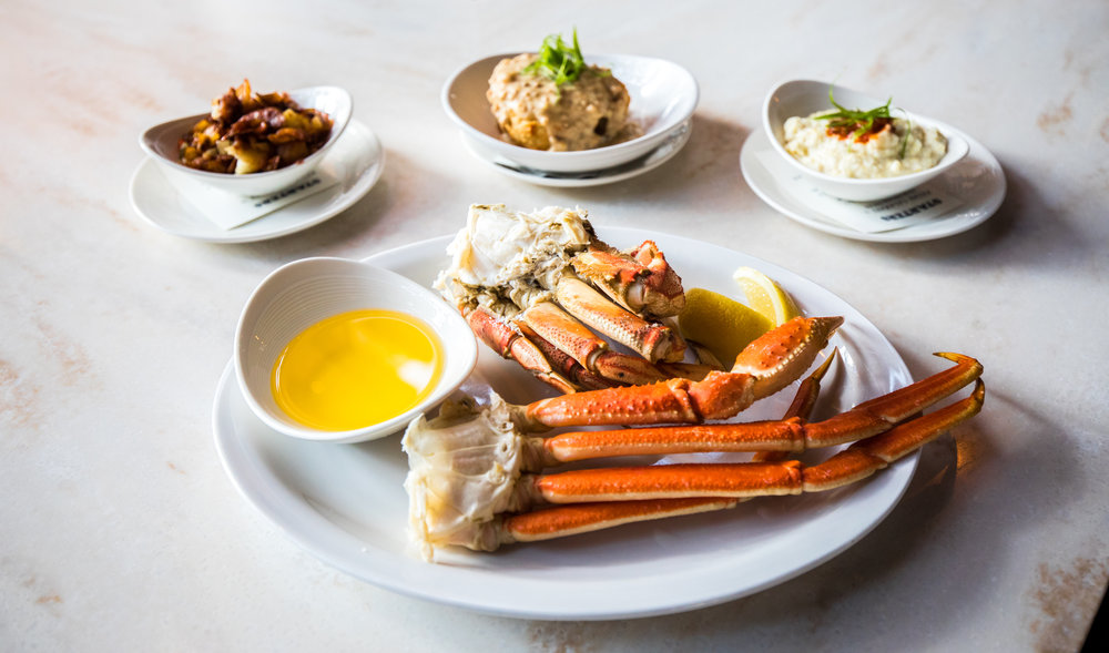 Jax Fish House and Oyster Bar Bottomless Crab Brunch