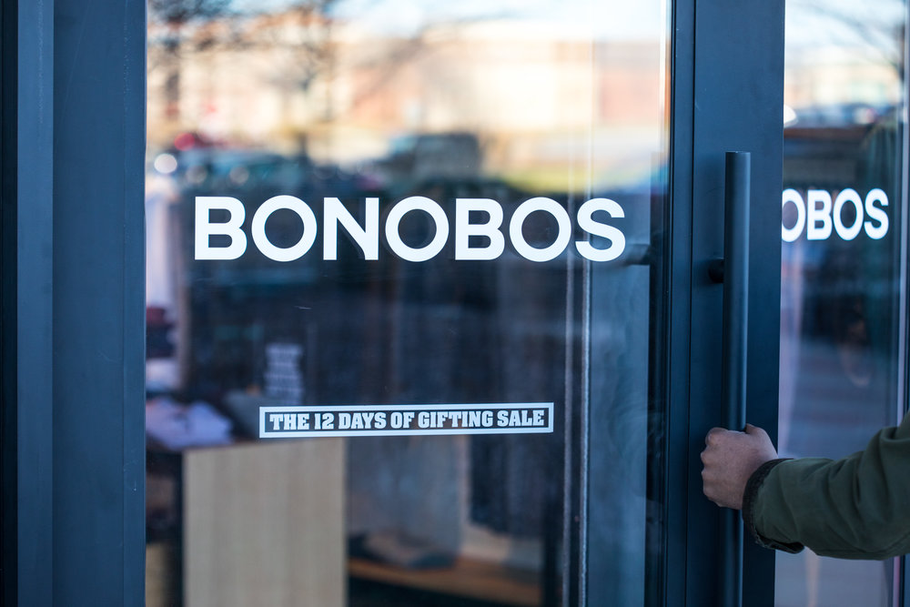 Bonobos Leawood Guideshop, Kasim Hardaway - Kansas City Blogger
