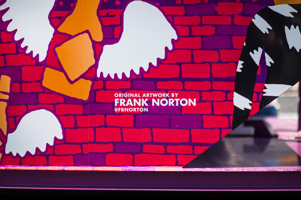 Haven't heard of  Frank Norton ? Be sure to give him a follow on social!