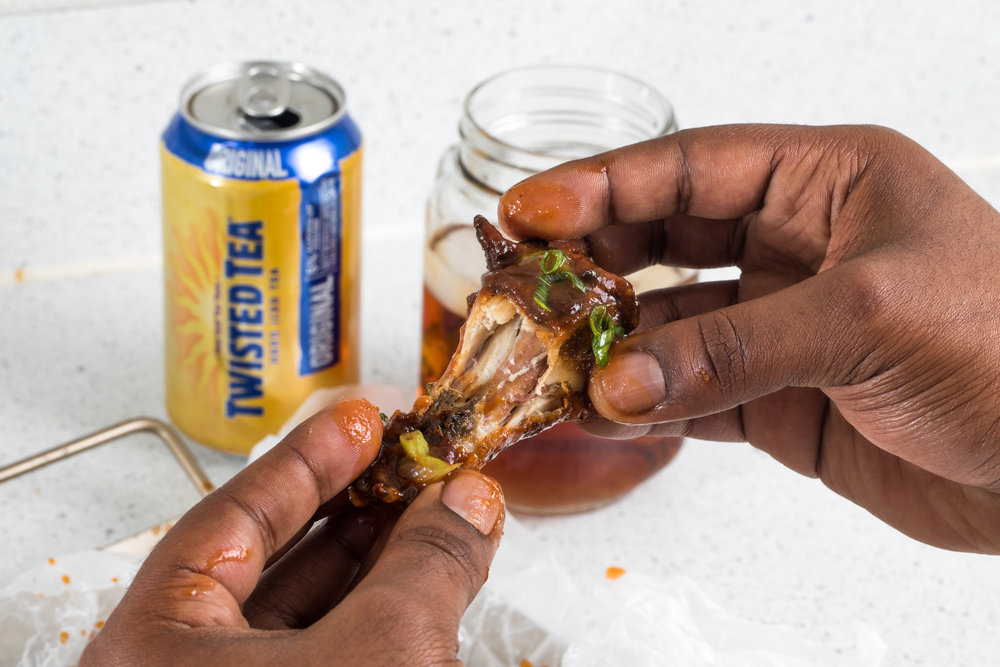 This  Twisted Tea  wings will make you wanna slap yo' mama.