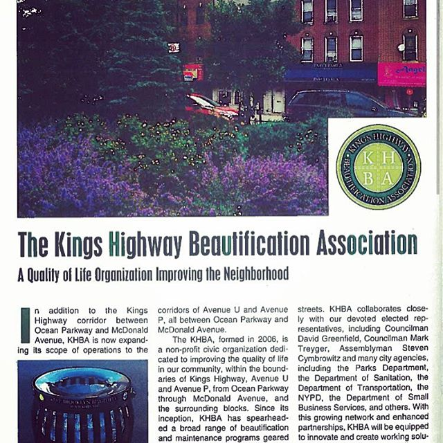 Thanks to everyone at @image_magazine for the wonderful 2 page profile on page 124/126 in this month's December issue!  stay tuned ! #keepbrooklynbeautiful #qualityoflife #khba