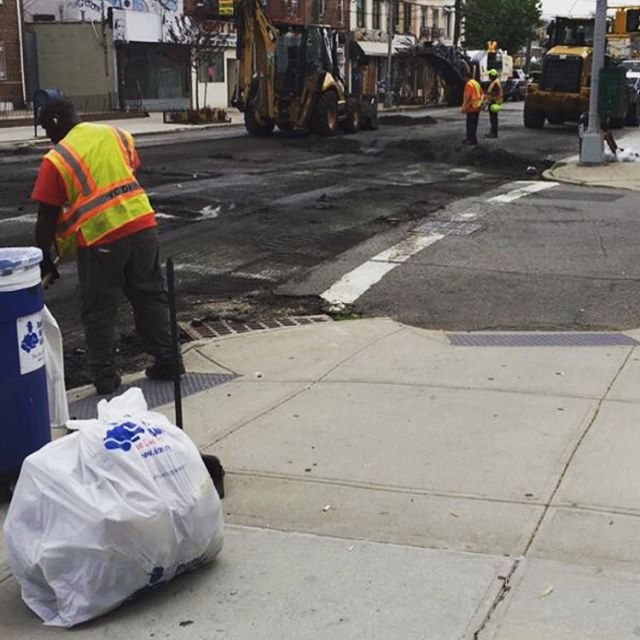 Our Avenue U (between Ocean Pkwy& McDonald Ave) street repaving project has finally rolled out! Thanks to Councilman Mark Treyger and DOT for helping facilitate! #safestreets