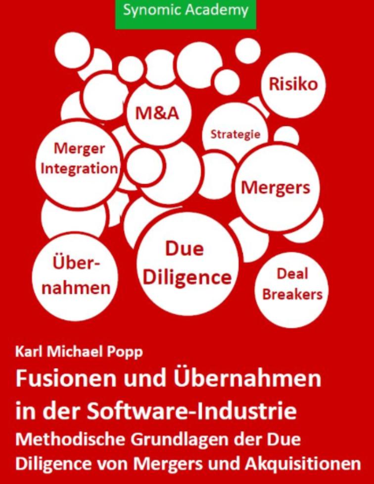 NEU: Fusionen und Übernahmen in der Software Industrie