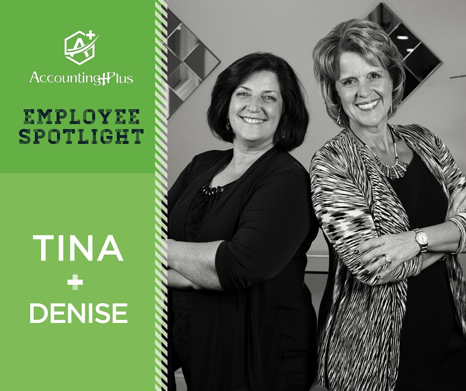 Denise and Tina are the owners of Accounting Plus in Columbia, MO. We're a 100% woman-owned company specializing in accounting and taxes for individuals, small businesses, and nonprofits. | Accounting Plus Inc.