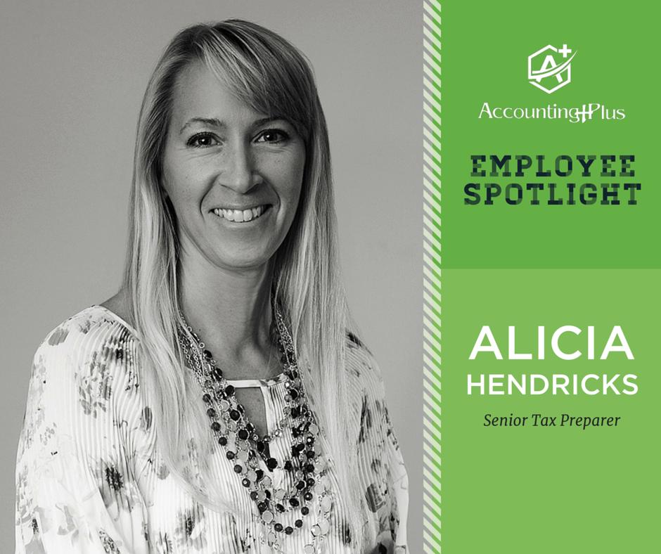 Alicia Hendricks, Senior Tax Preparer | Accounting Plus