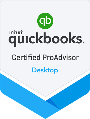 QuickBooks Certified ProAdvisor Desktop –  We're certified!