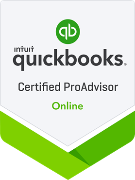 QuickBooks Certified ProAdvisor Online –  We're certified!
