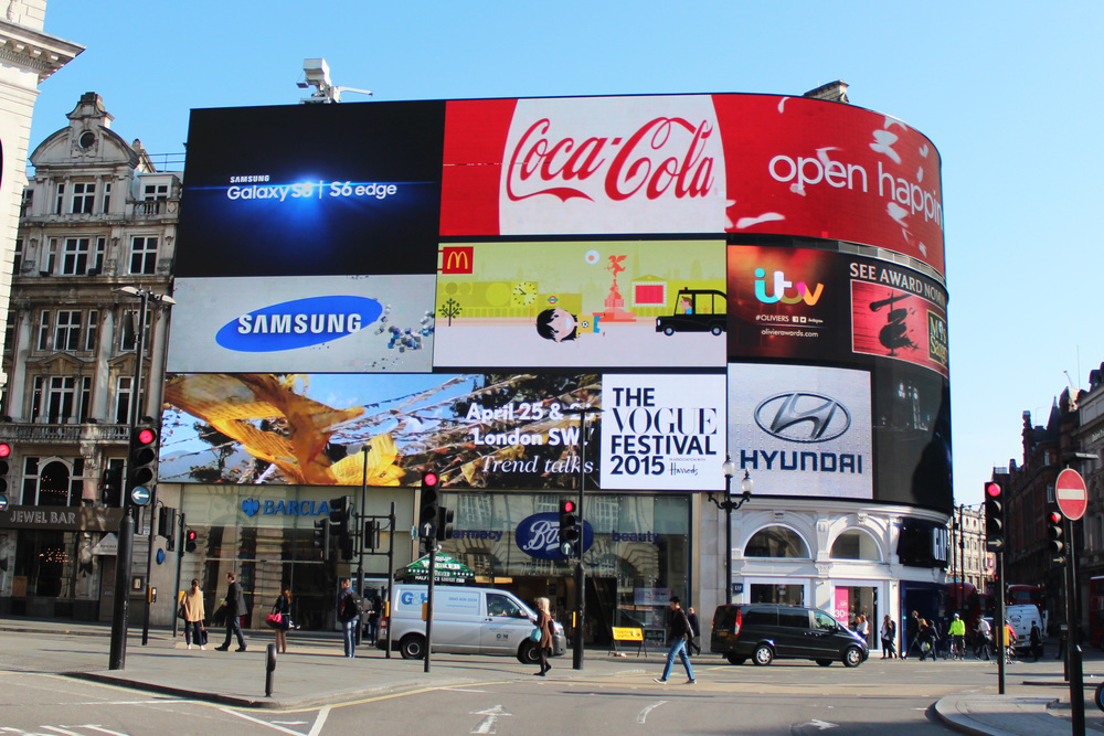 The Vogue Festival, Piccadilly Circus
