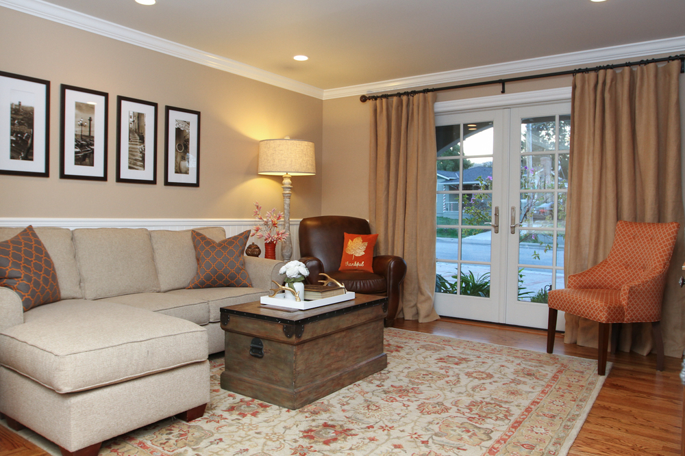 Living And Family Room Interior Design Services San