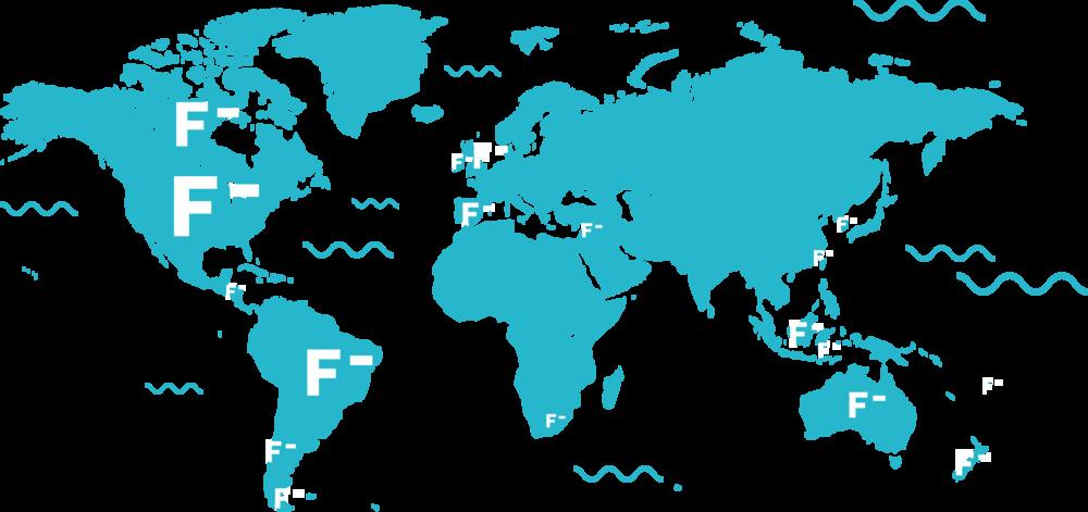Fluoridation Across the World