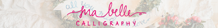 Ma Belle Calligraphy