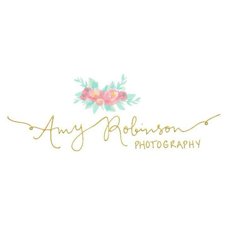 The final logo for  Amy Robinson Photography !