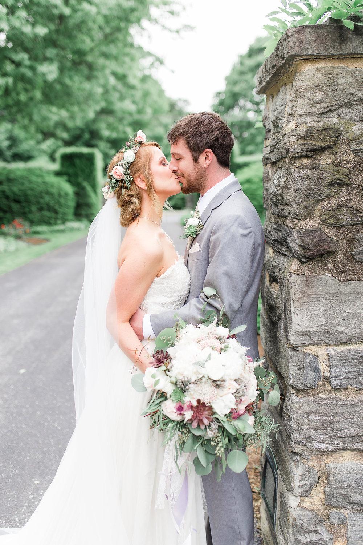 lena and matthew - romantic garden wedding inspiration