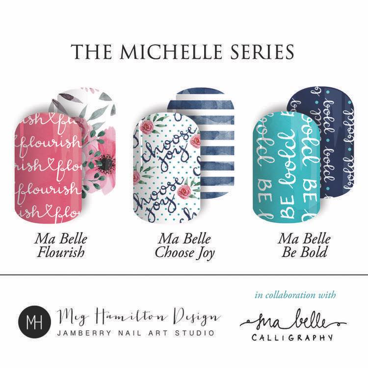 Ma Belle Calligraphy Inspired Nail Wraps Ma Belle Calligraphy