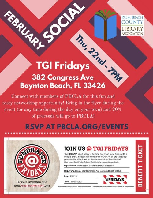 events palm beach county library association