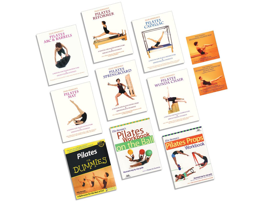ellie herman s pilates props workbook herman ellie
