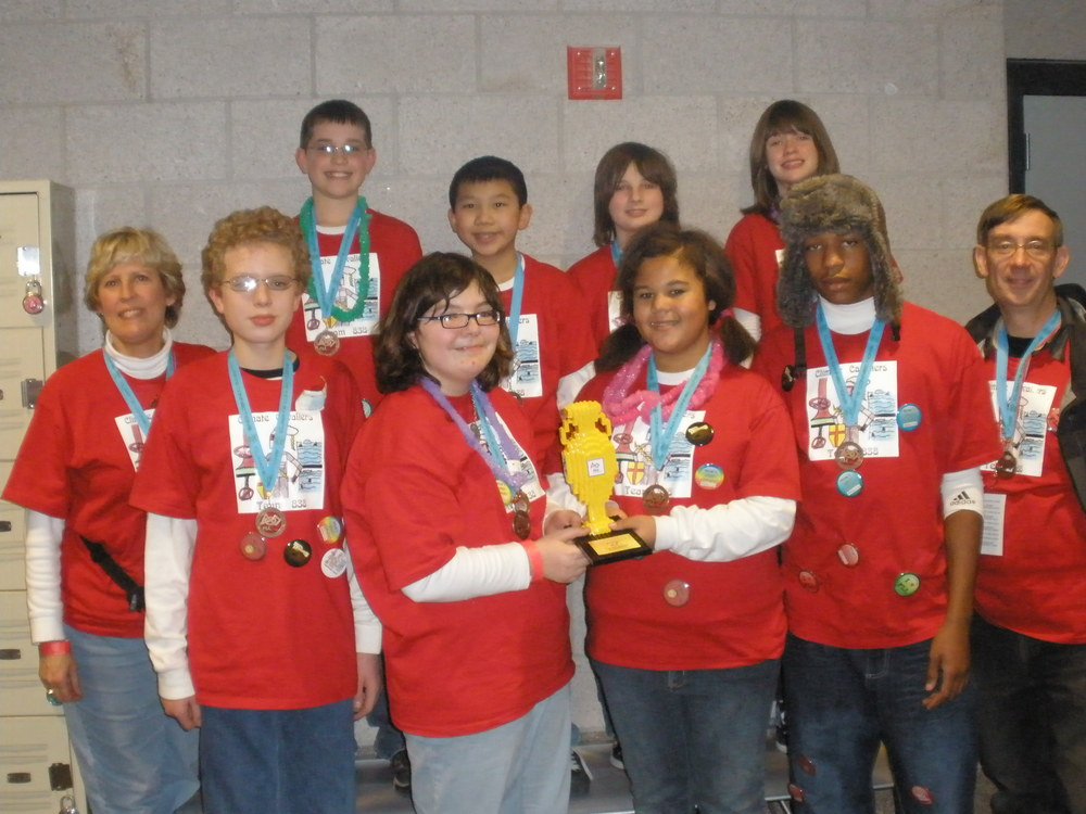 1st Place Trophy - Team 838 Climate Cavaliers.JPG