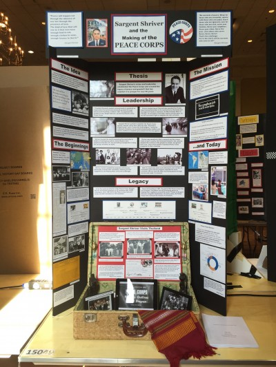 Sample of a NHD project in the Exhibit Category