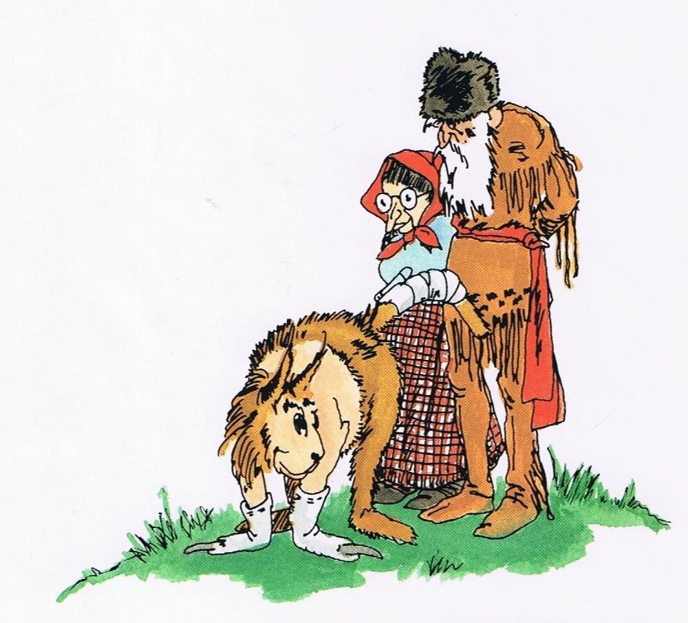 Tajar, Madam Witch, and the Range Ranger