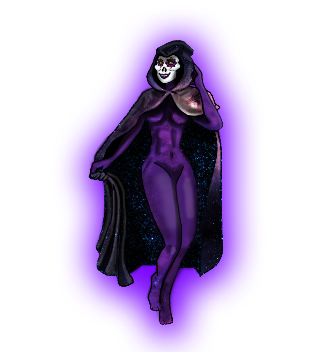 Michtlan, the goddess of death and dreaming.