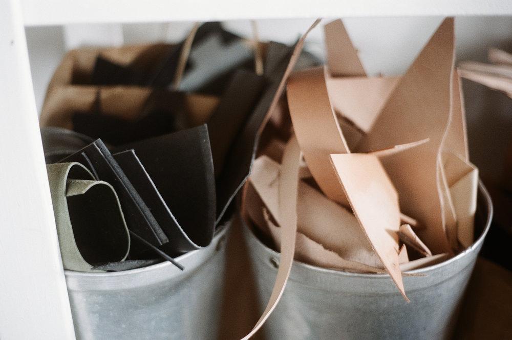 Zero waste leather goods - Miljours