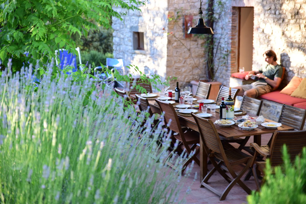 The perfect space for al fresco dining