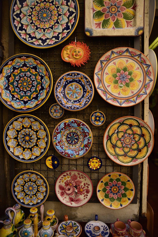 local ceramics in orvieto