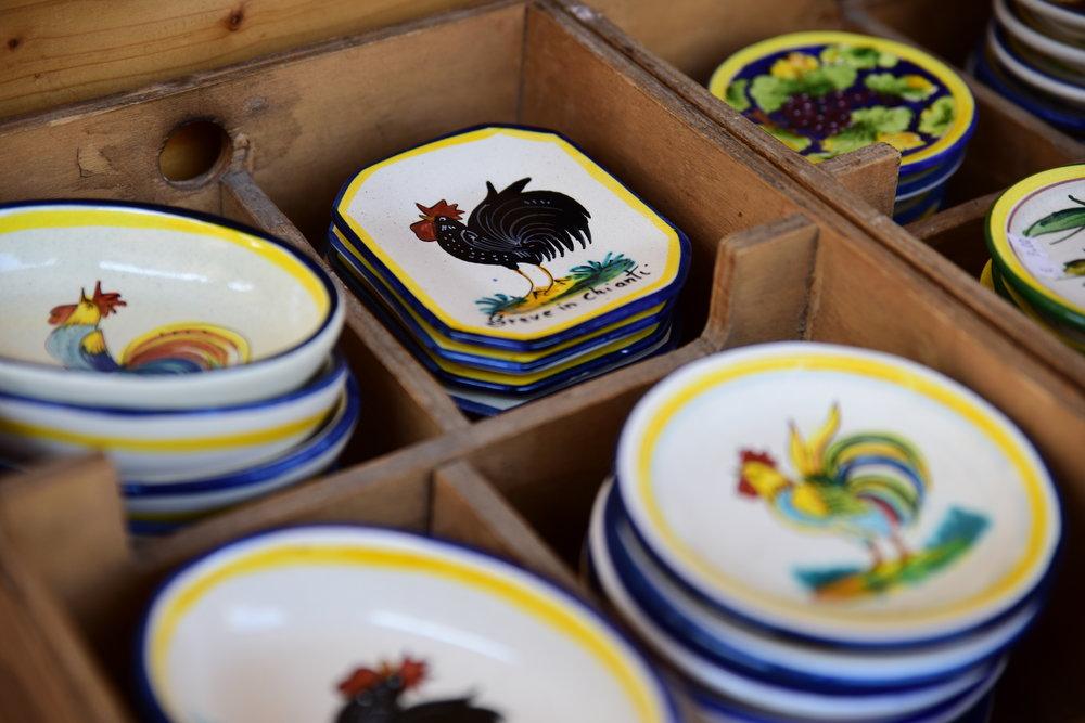 local ceramics in greve