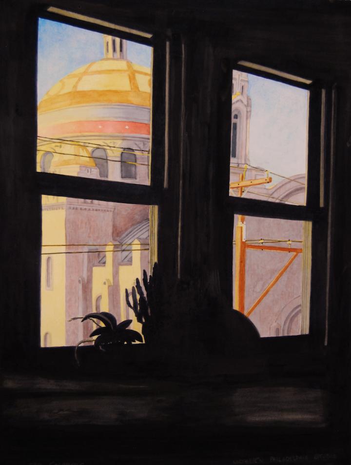 """Northview Philadelphia Studio • Watercolor • 24""""x18"""""""