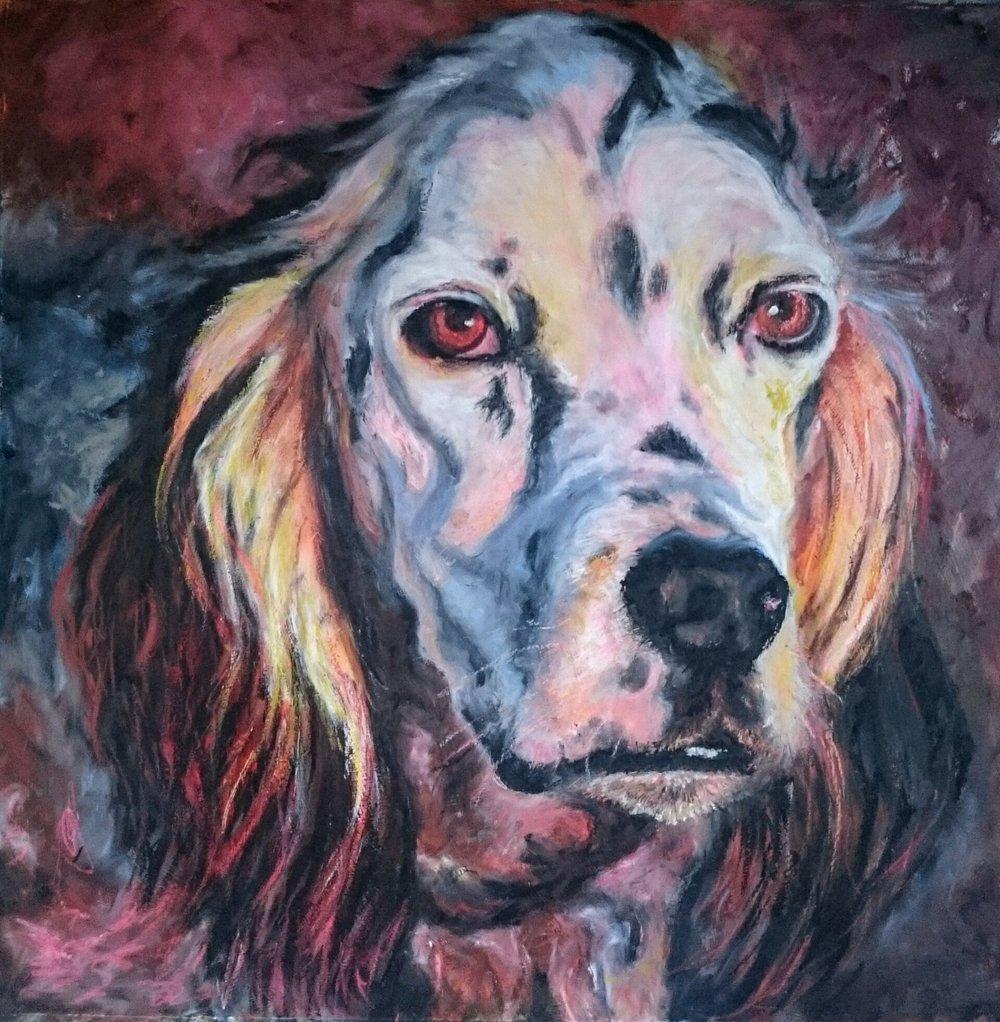 OTTO, my first portrait.