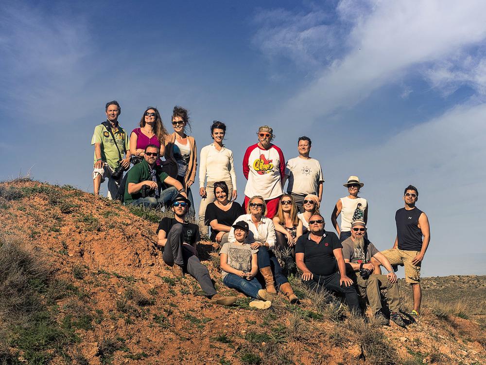 Das Team LIK SPANIEN ARAGON - 2015