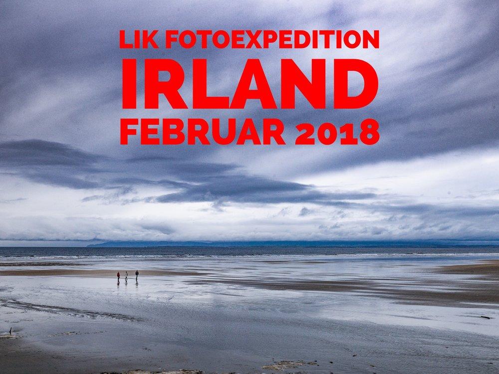 LIK Photostorm Camp 2018 - Donegal / Irland - Foto: Eric Berger - Tullan Strand direkt vor der Unterkunft