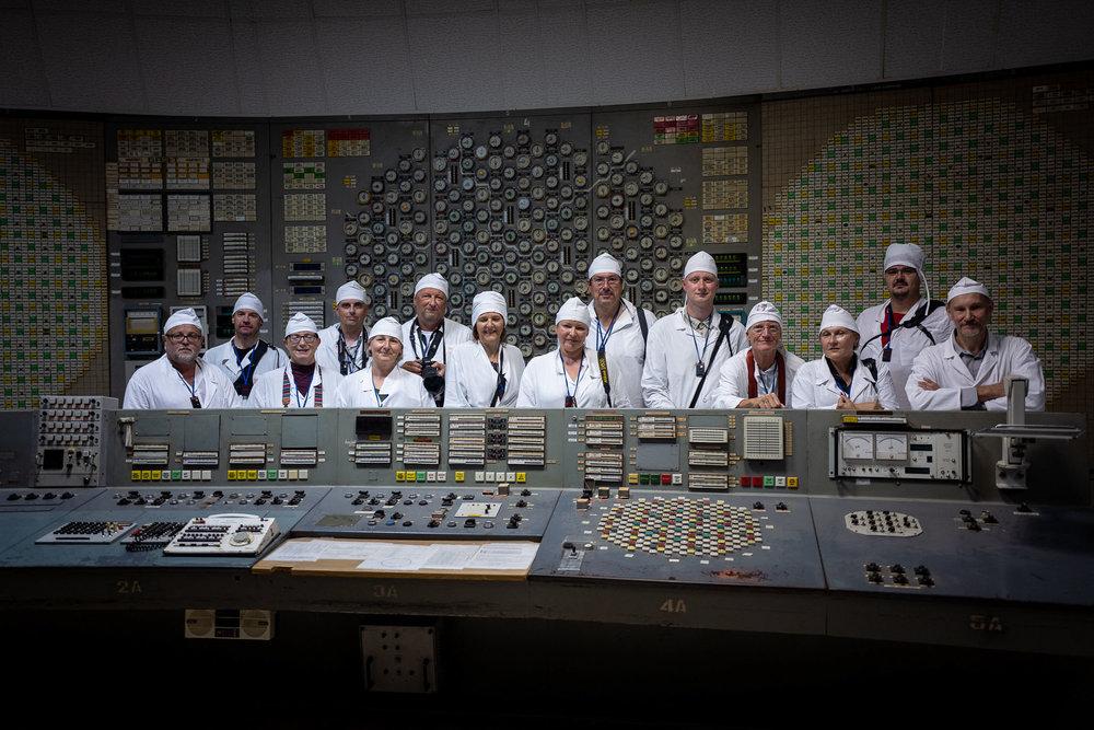 Das LIK Fotoexpeditionsteam im Reaktor 2