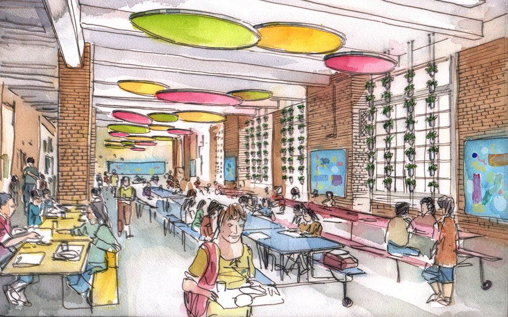 P.S. 10 Cafeteria