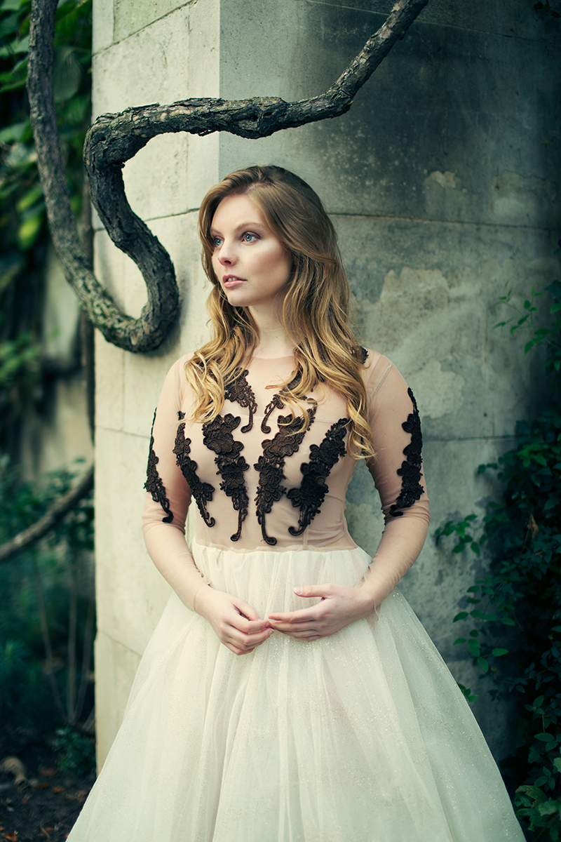 Model: Nell Hudson  Photography: Iness Rychlik  Dress: Gosia Wolinska  Makeup: Sarah Shaw  Asisstant: Roksana Rychlik