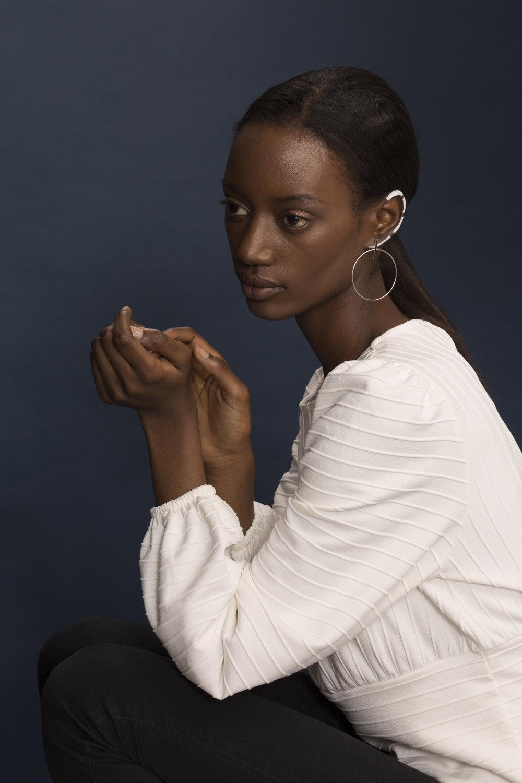 Photography: Katherin Werner  Model: Brenda Mutoni  Makeup Artist: Sarah Shaw
