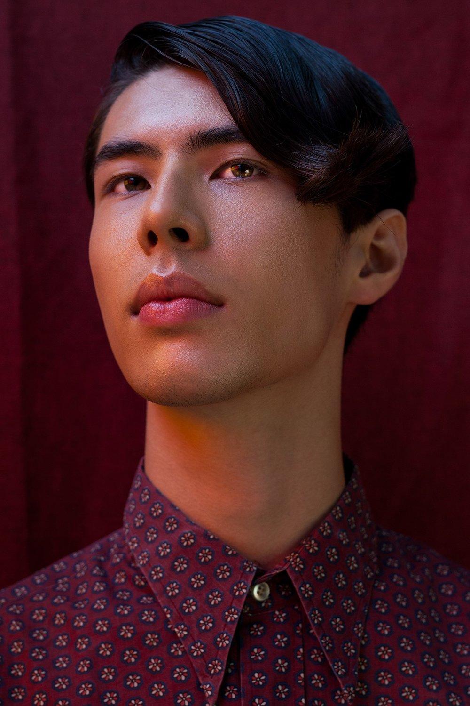 Photographer: Lenita Visan  Model: Kai  Hair & Makeup Artist: Sarah Shaw