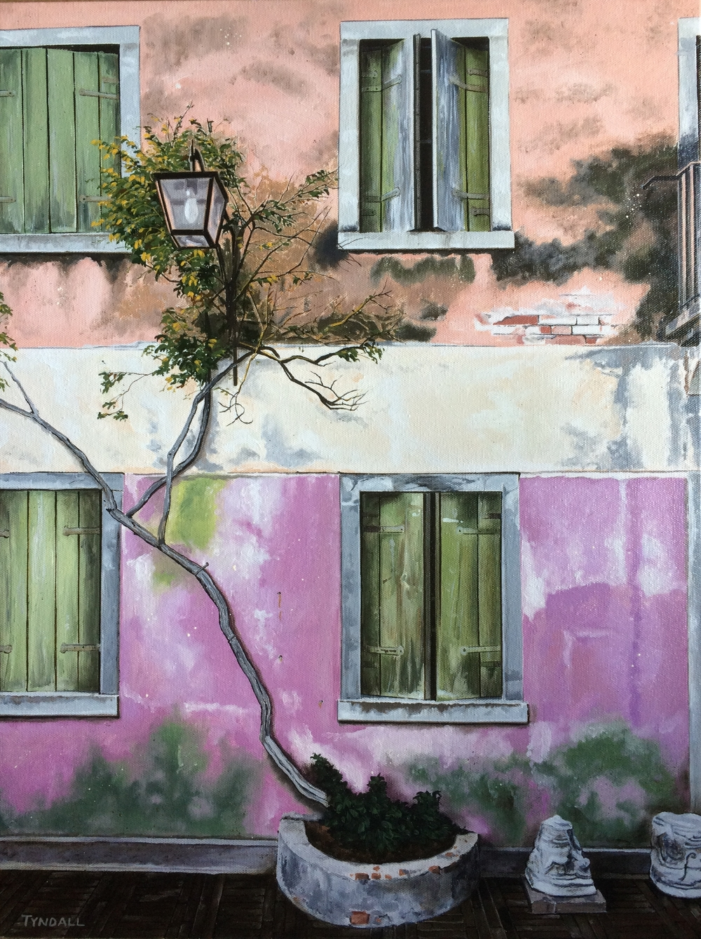 Torcello, Italy, oil on canvas 2015