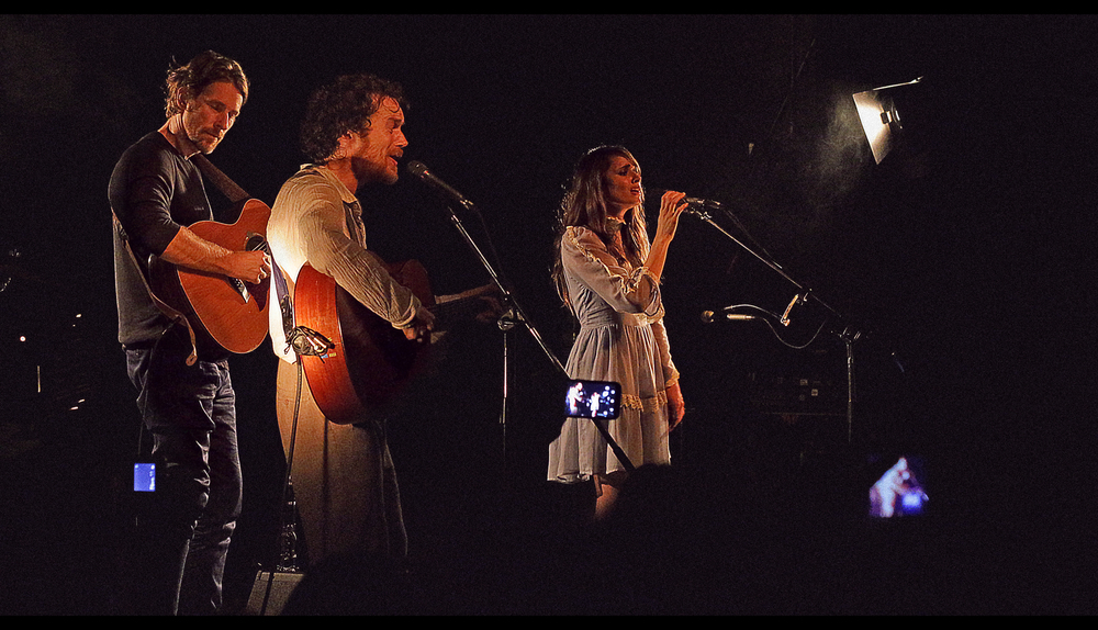 Damien Rice, Joel Shearer and Mia Maestro by Smerdiakov