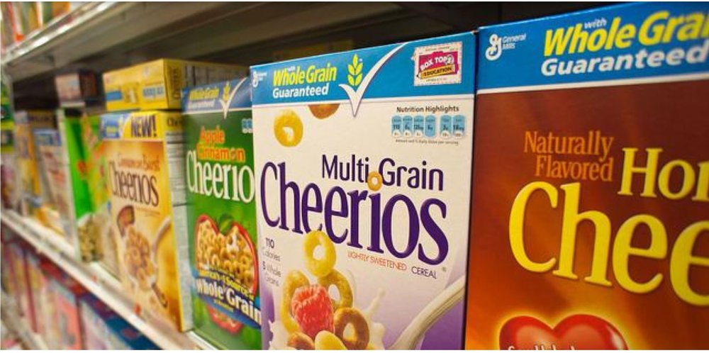 Business  Business  Some Of Your Favorite Cereals Contain Unsafe Amounts Of Cancer-Linked Weed Killer, Report Says