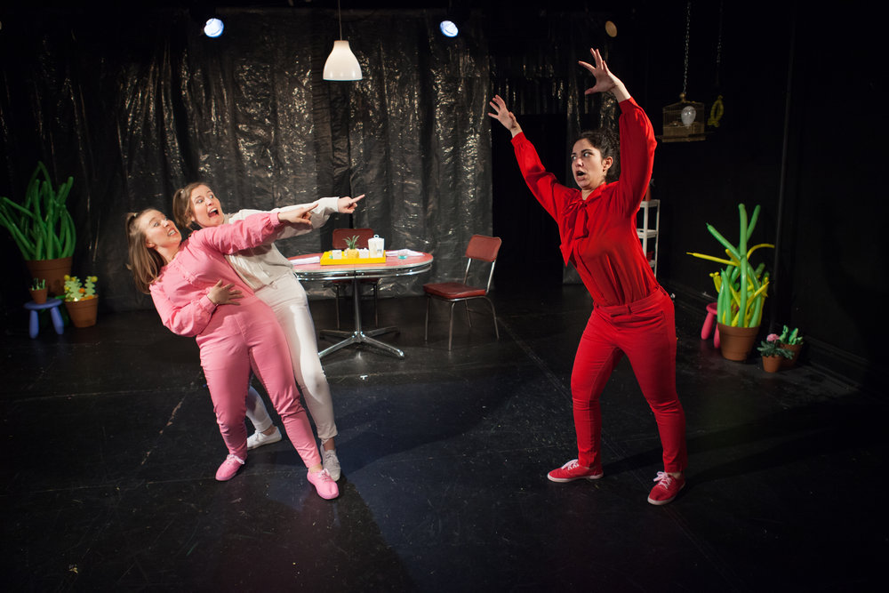 """This Is How Girls Die"" January 2019, Co-Creator and Performer, Plays & Players Theatre, Photo by Emilie Krause"