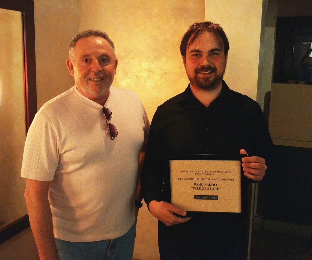 IFMCA Member  Craig Lysy  and  Panu Aaltio
