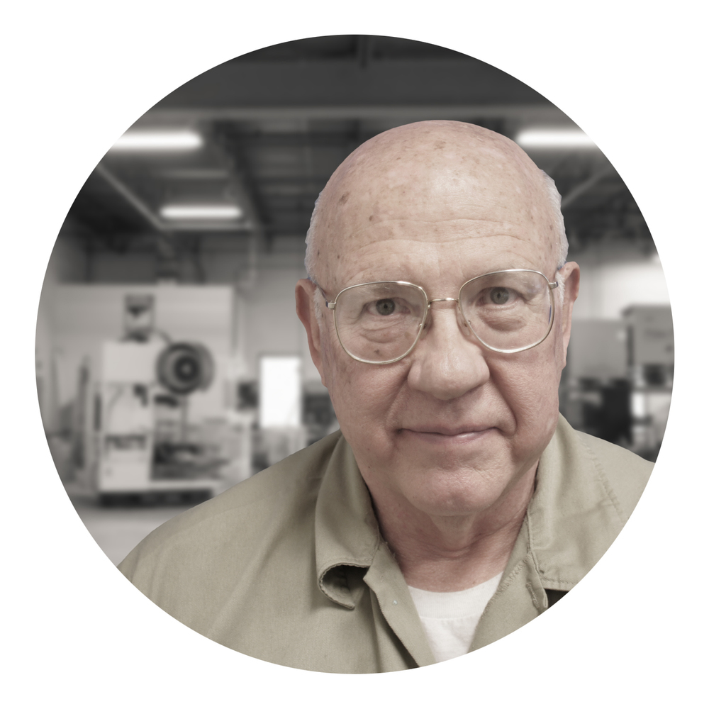Bob Rauschenberger, Director of Machining and Fabrication