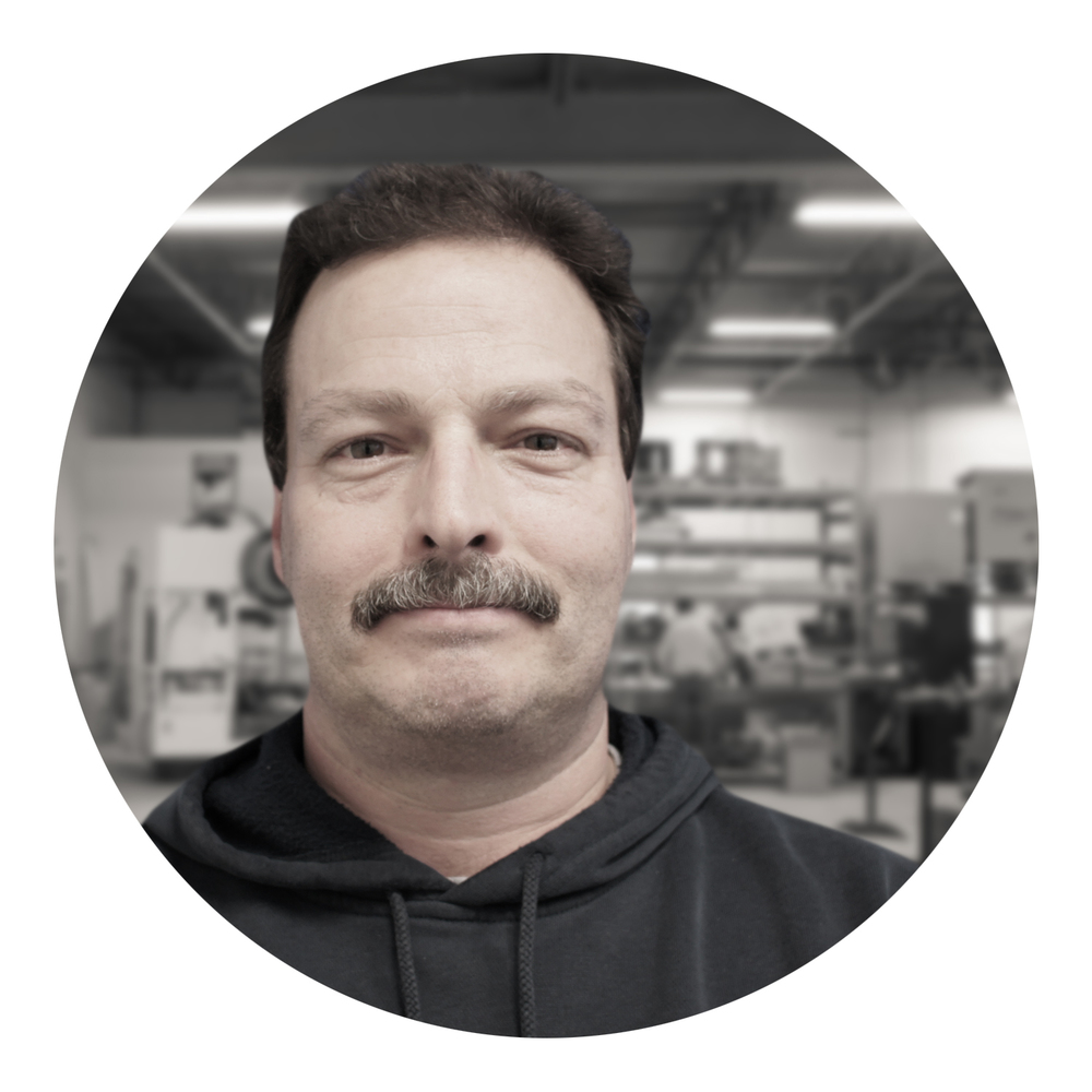 Joe Grosso, Principal Machinist