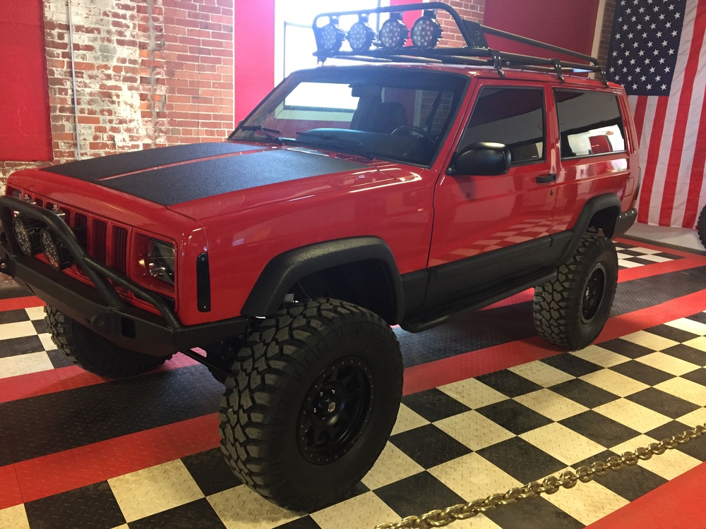 2000 Jeep Cherokee Lifted >> Jeep Xj Lifted Red | www.pixshark.com - Images Galleries With A Bite!