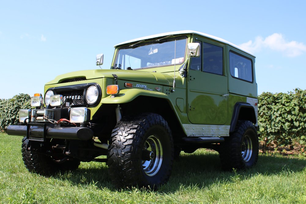 1972 FJ 40 LAND CRUISER - CLICK TO SEE FULL RESTORATION