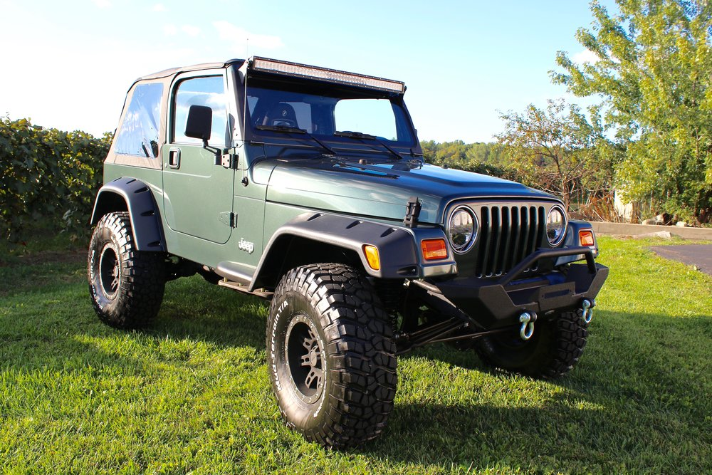 2002 GREEN TJ - CLICK TO VIEW FULL RESTORATION