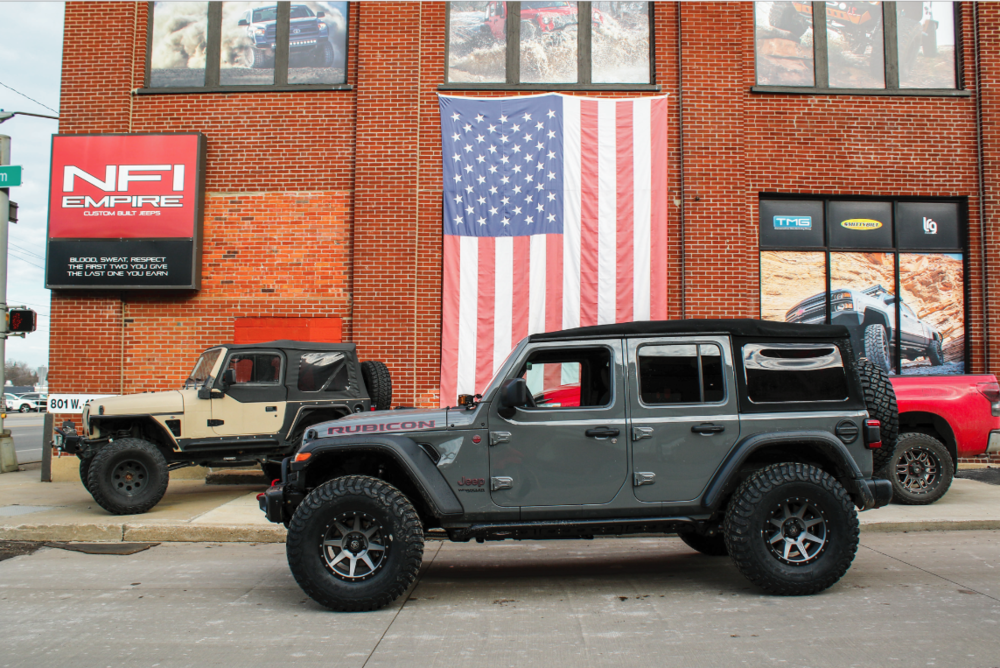 Jeep Wrangler JLU - *Click to View Build